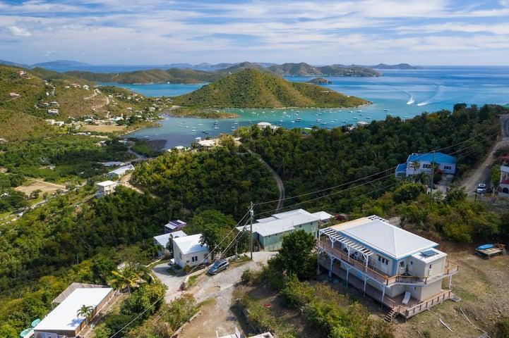 Stunning down island views!