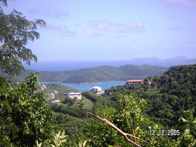 View over Coral Bay