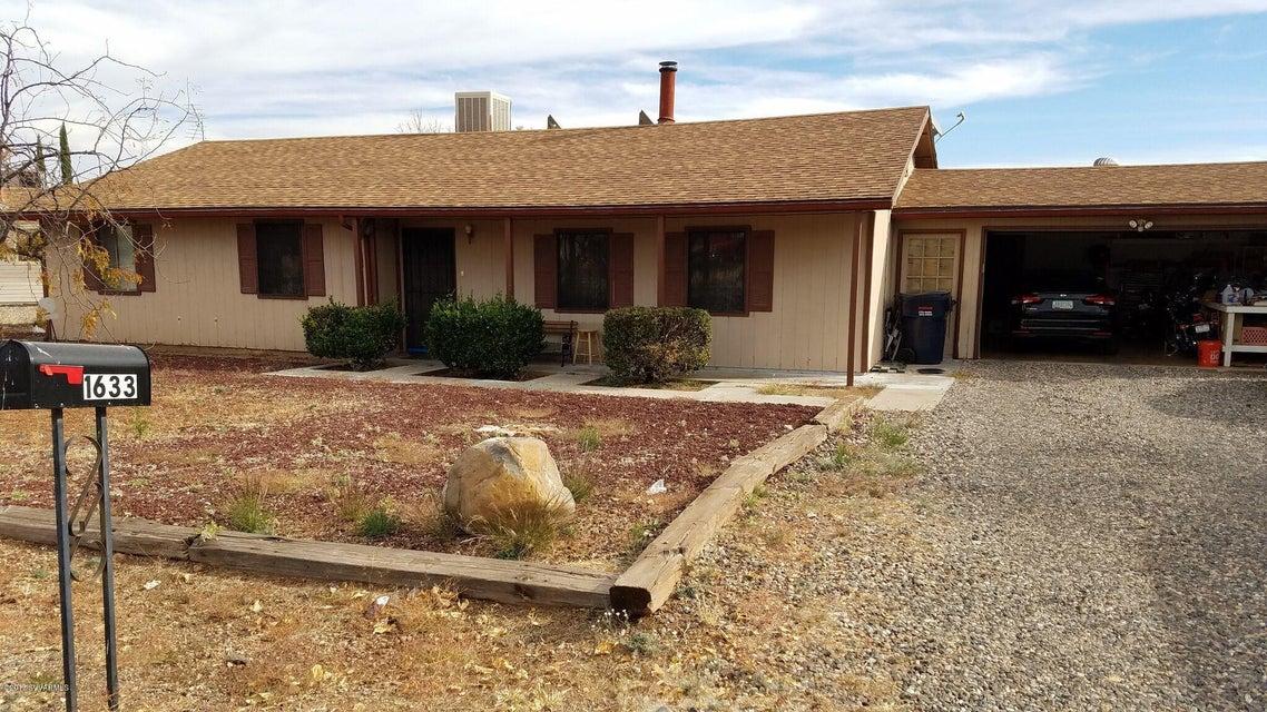 1633 E Sierra Drive Cottonwood, AZ 86326