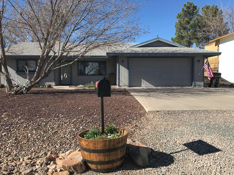 1264  Wild Burro Drive Cottonwood, AZ 86326