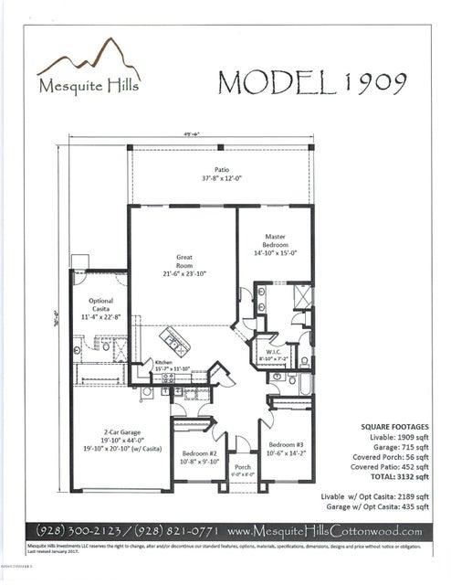 2034  Golddust Circle Cottonwood, AZ 86326