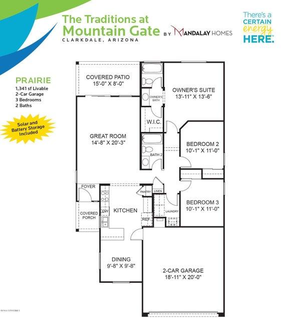 550 Ruffner Lane Clarkdale, AZ 86324 - MLS #: 515360