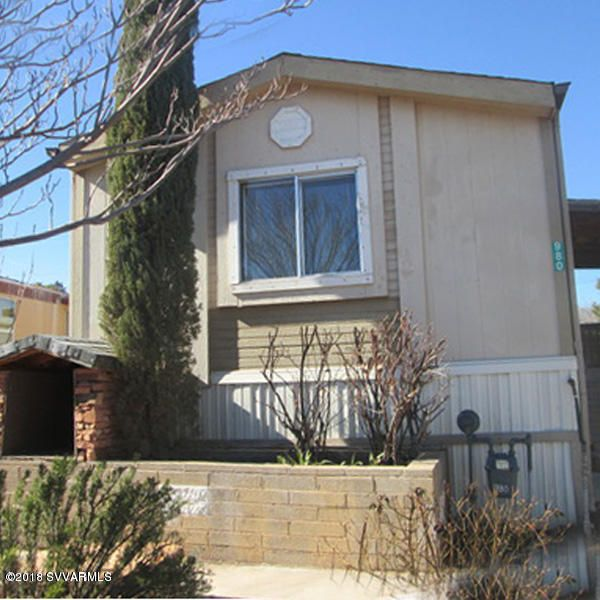 980 Calle Tomallo Clarkdale, AZ 86324