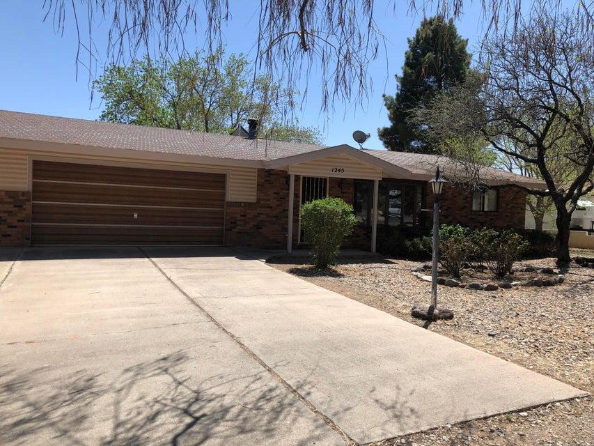 1245 S Monte Tesoro Drive Cottonwood, AZ 86326