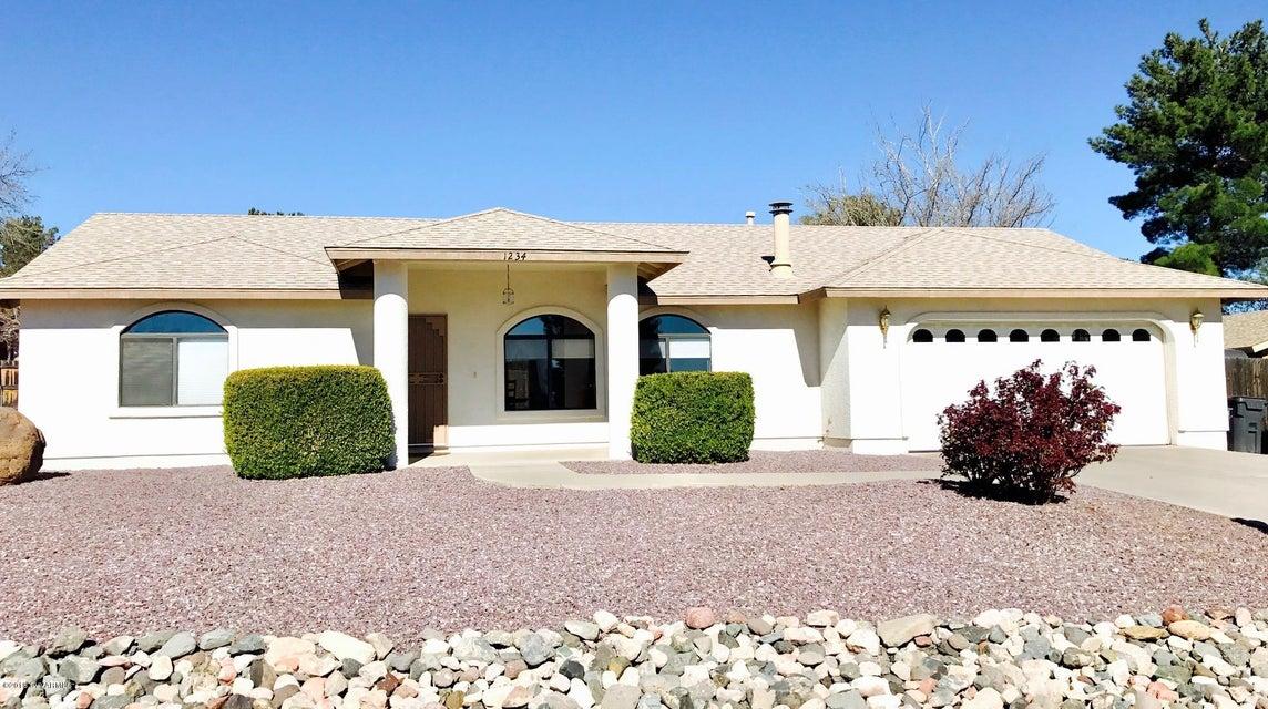 1234 S Ocotillo Drive Cottonwood, AZ 86326