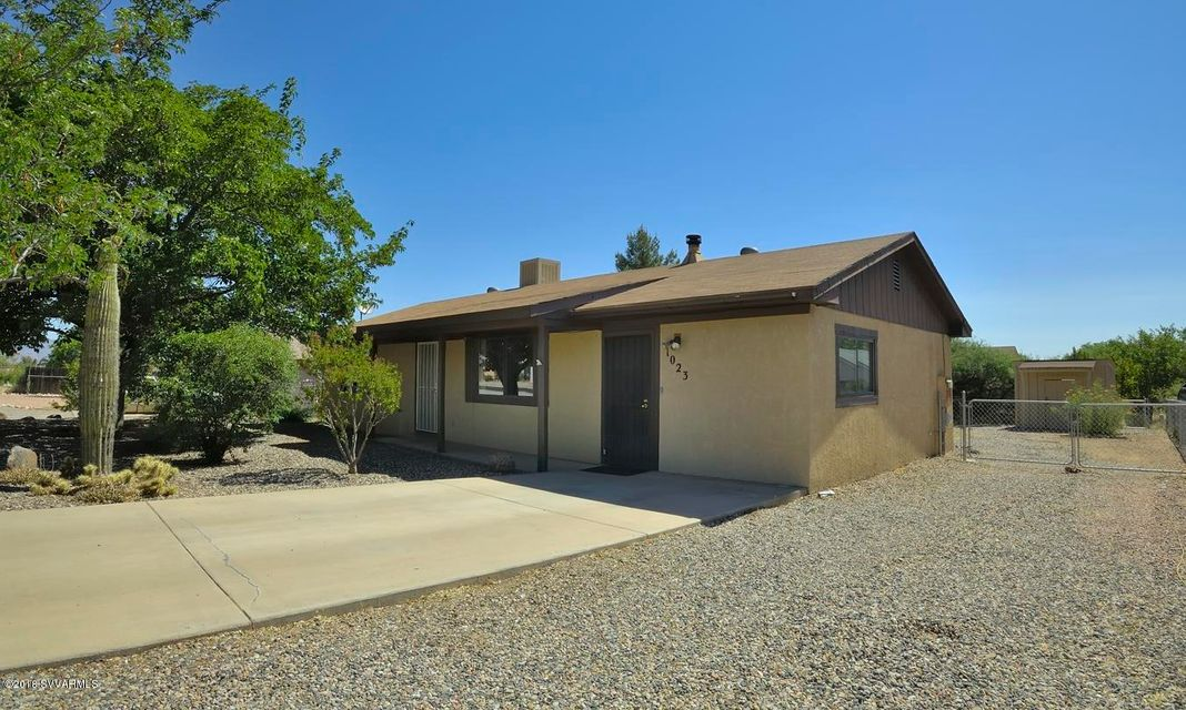 1023 S Monte Tesoro Drive Cottonwood, AZ 86326