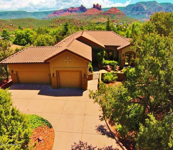 Bask in Red Rock views from this updated Uptown Sedona gem!