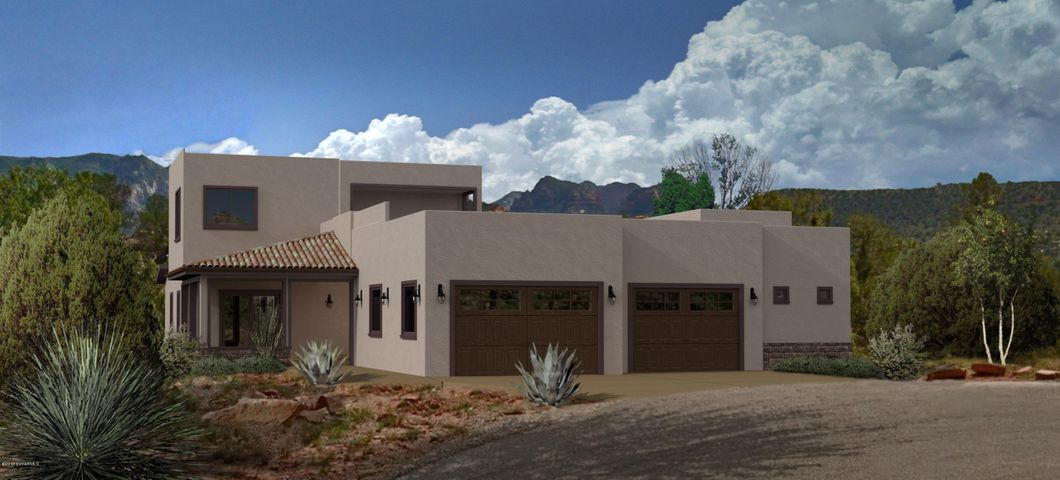Southwest charm with modern flair, style, conform and energy efficient.