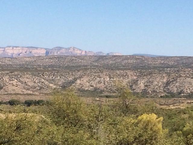 Sedona views from lot