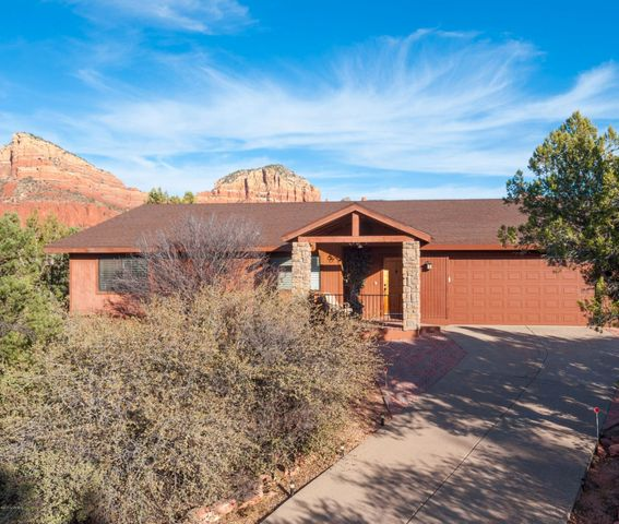 Private Tree-Line Front with Amazing Red Rock Views