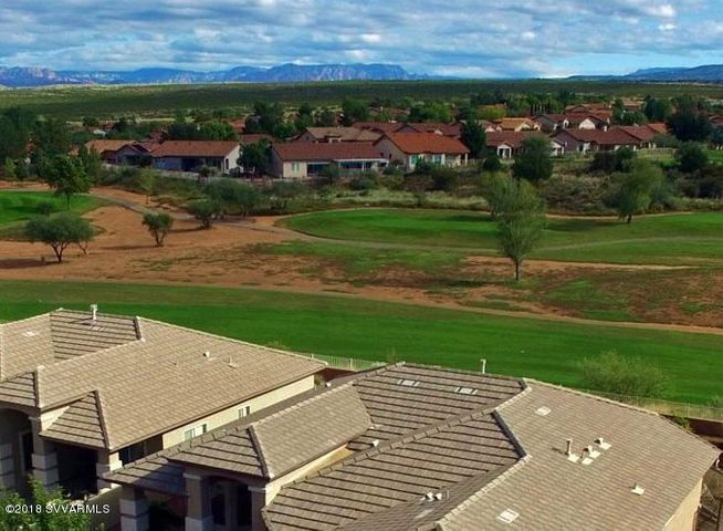 Agave Highlands Golf Course and distant red rock views create spectacular scenery and spacious feeling.