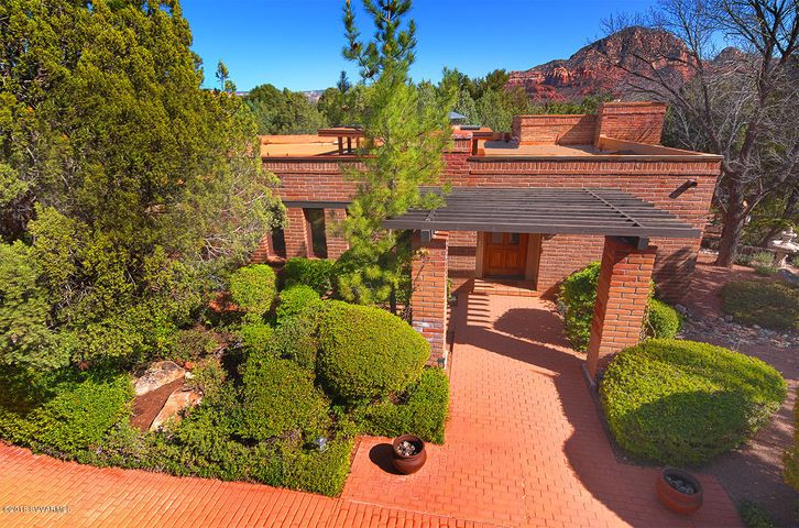 Rare Authentic Mexican Adobe Brick Home in Prestigious gated Foothills South Subdivision
