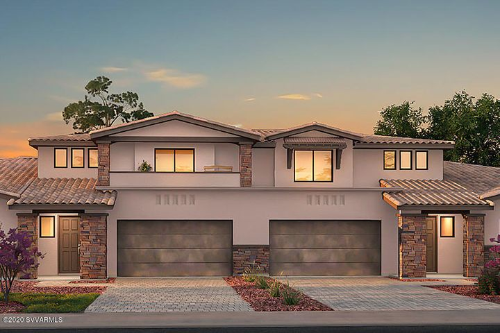 With optional front Balcony, 2300 sq/ft, 3 Bedroom, 2.5 Bath, and Master on the main level.