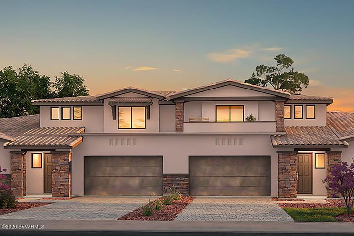 Master on the main level, optional 4 Bedroom layout, also includes the optional front Balcony