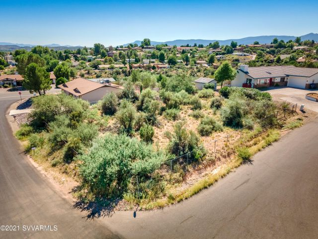 Large corner lot with magnificent views of the Red Rocks