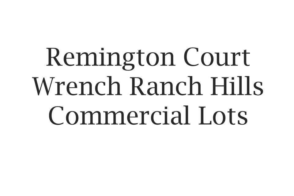 Remington Court,Sheridan,Wyoming 82801,Commercial,Remington,17-1211