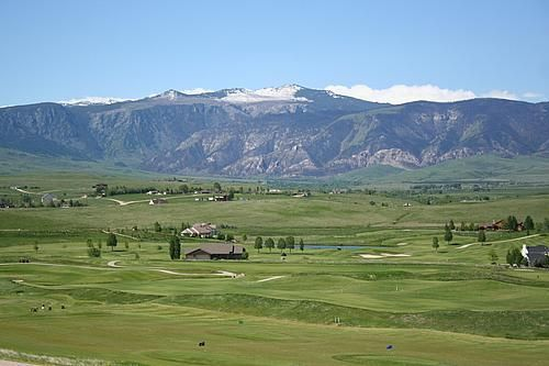 Views from Area T at The Powder Horn Golf Community