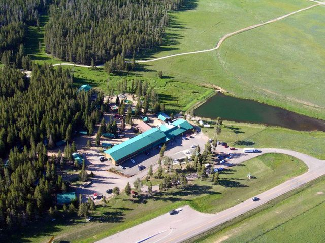 Aerial View of Bear Lodge