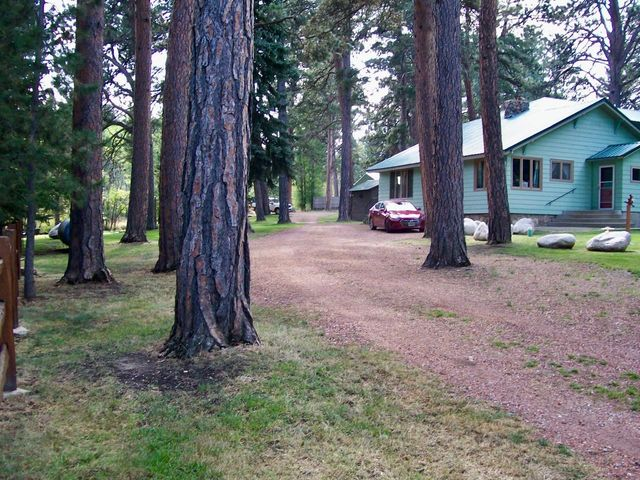 Located just off Fish Hatchery Road with gravel driveway