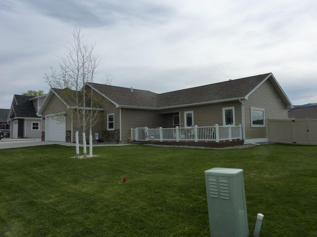 Desirable corner lot with views of wide open spaces