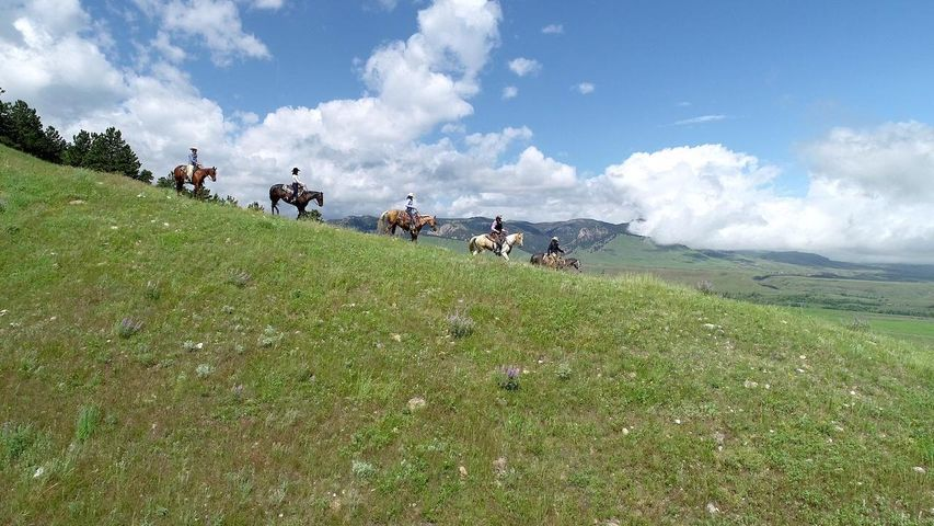 Riding at Upper French Creek Ranch