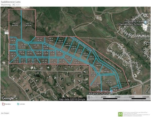 SaddleCrest Drive, (Lot 1), Sheridan, WY 82801