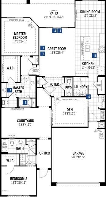 Homes for sale tucson az homes for sale oro valley az for Tucson home builders floor plans