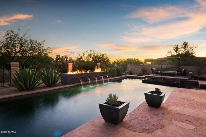 Incredible Privacy with Common Area behind the home. North/South Exposure and Beautiful Sunsets