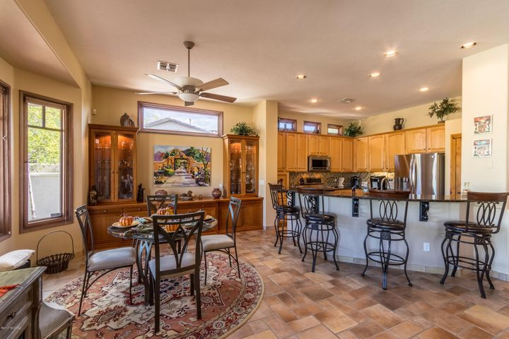 Monument Vista is a highlty desired subdivision of semi-custom homes. Tucked in the Northeast area of Tucson. Located on .37 of an acrea with buffers between homes.