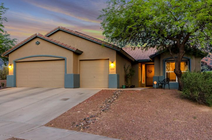 Welcome home! This 1,844 square foot home has discreet solar panels and a stunning backyard.