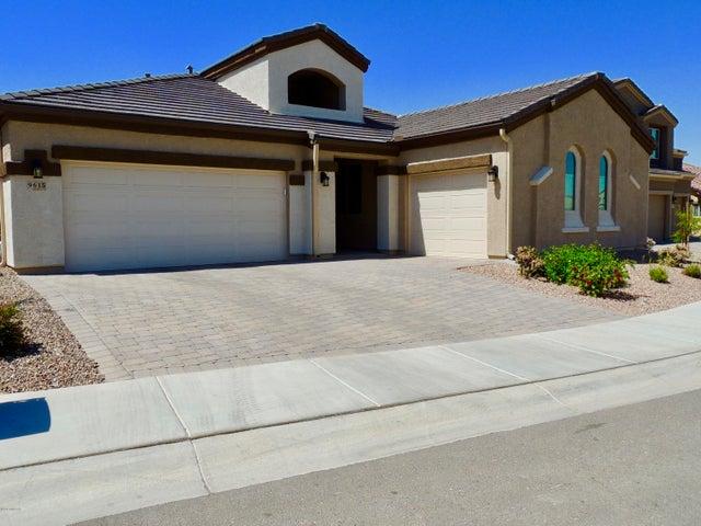 This home has a 2-car garage and a separate 3rd car garage.