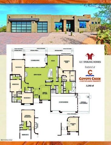 14896 E DIAMOND F RANCH TO BE BUILT Place, L-265, Vail, AZ 85641