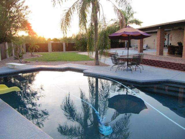 Recently refinished in Pebble Sheen, Diving pool w slide