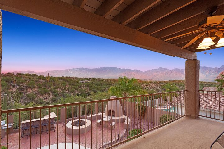 Take in this amazing view from the balcony!