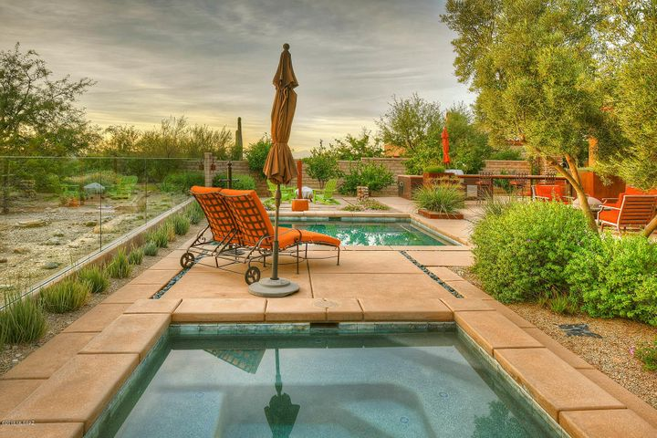 The tranquility of this spa-like yard will soothe your worries and take your breath away.
