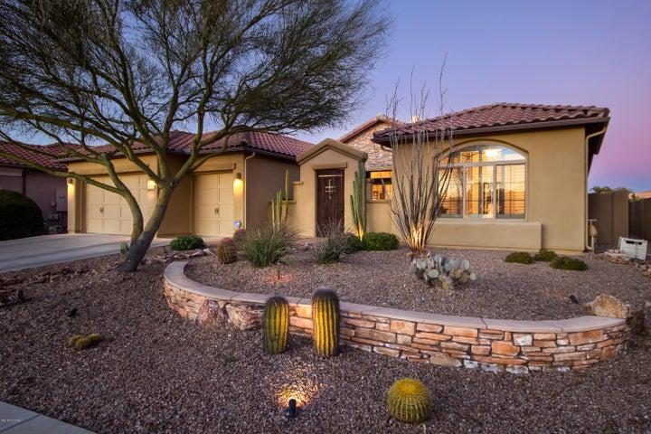 3,305sf, 4BR, 3BA+office/den exquisite semi-custom home in gated Sienna in Rancho Vistoso