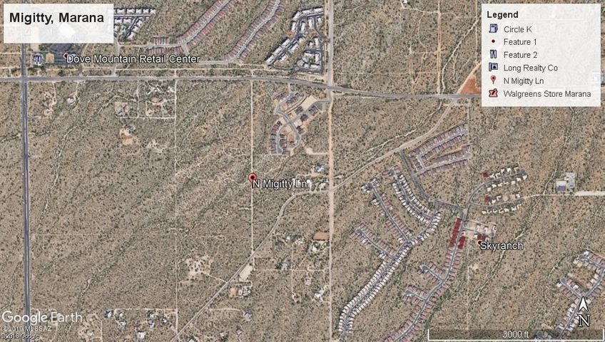 N MIGITTY Lane, Tucson, AZ 85742