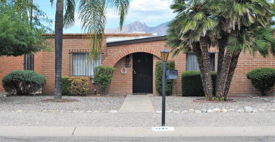 4337 E Fortaleza Street, Tucson, AZ 85712