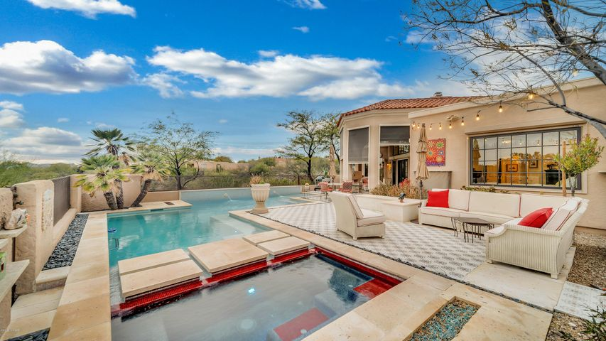 Relax in your secluded back yard.