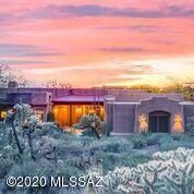 Fabulous 12093 N. Red Mountain Drive. Remarkable Pusch Ridge, city and sunset views.