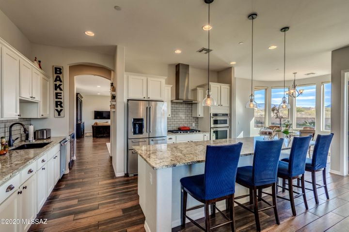Well appointed Kitchen with amazing views