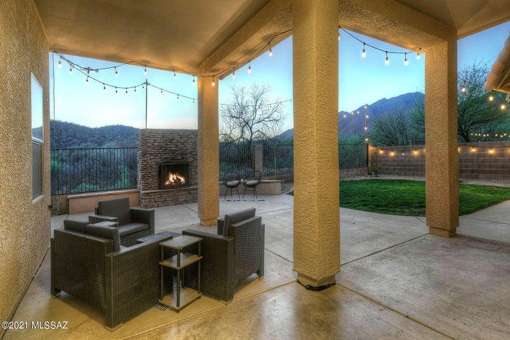 A true outdoor living room
