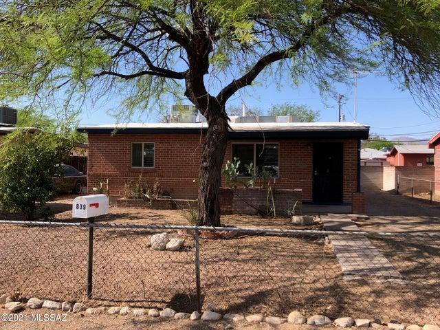 839 E Lester Street, Tucson, AZ 85719