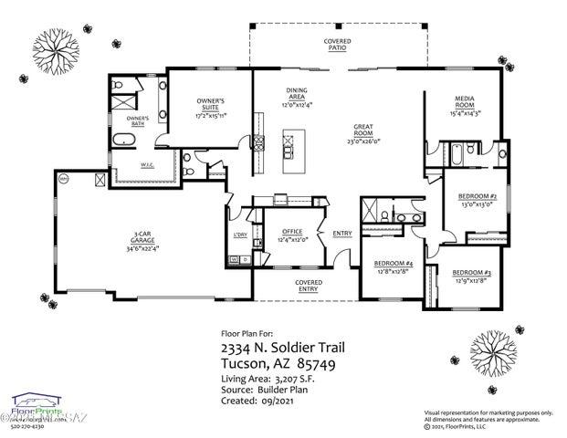 2334 N Soldier Trail, Tucson, AZ 85749