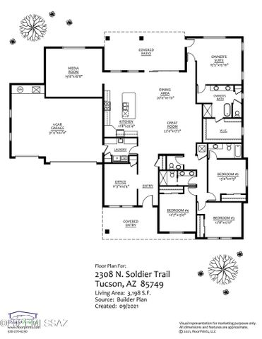 2308 N Soldier Trail, Tucson, AZ 85749