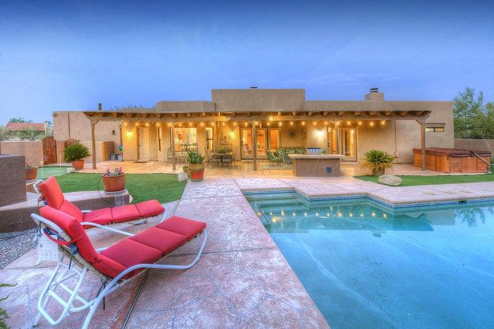 A true patio for living.