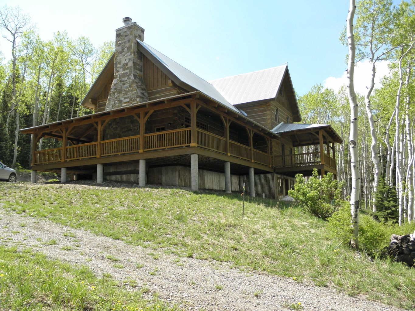 colorado sale vacation resort img for lodging log homes cabins butte rivers crested almont three gunnison