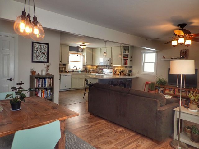 Kitchen, Living, Dining Room