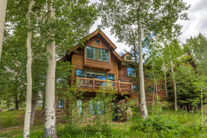 This lovely townhome is tucked in the aspens in a hidden enclave in Mountain Village.