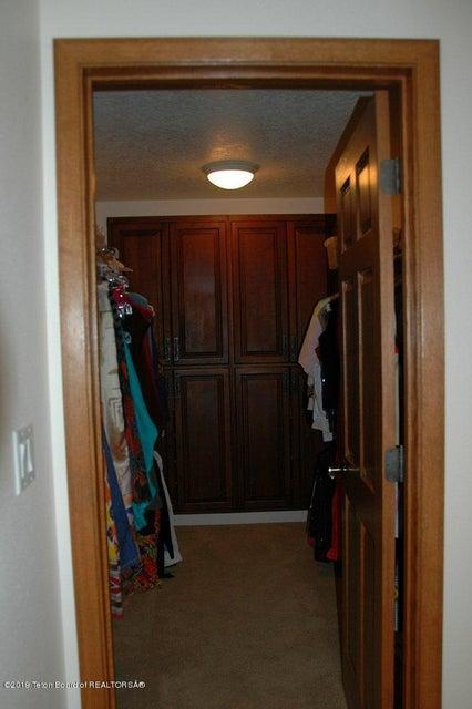 Deep Master Suite Closet